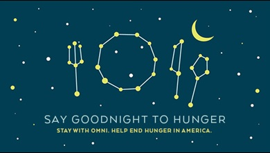 Stay with Omni. Help End Hunger in America.
