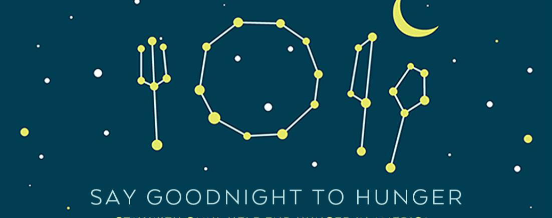 Say Goodnight to Hunger. Stay with Omni. Help End Hunger in America.