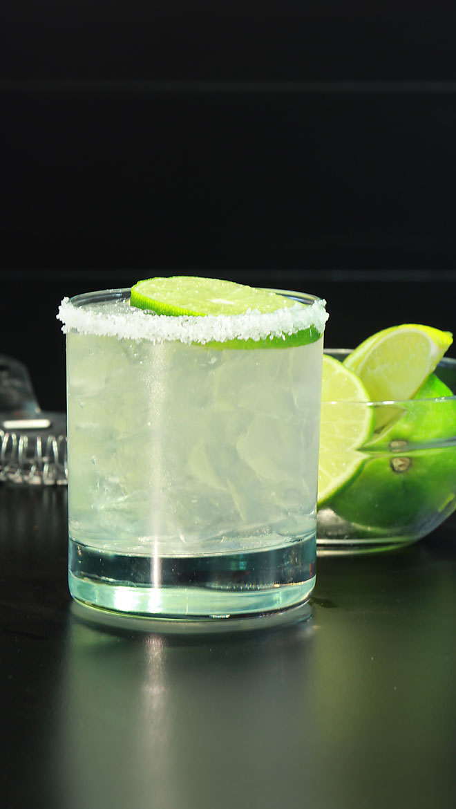 Salted Tequila Gimlet