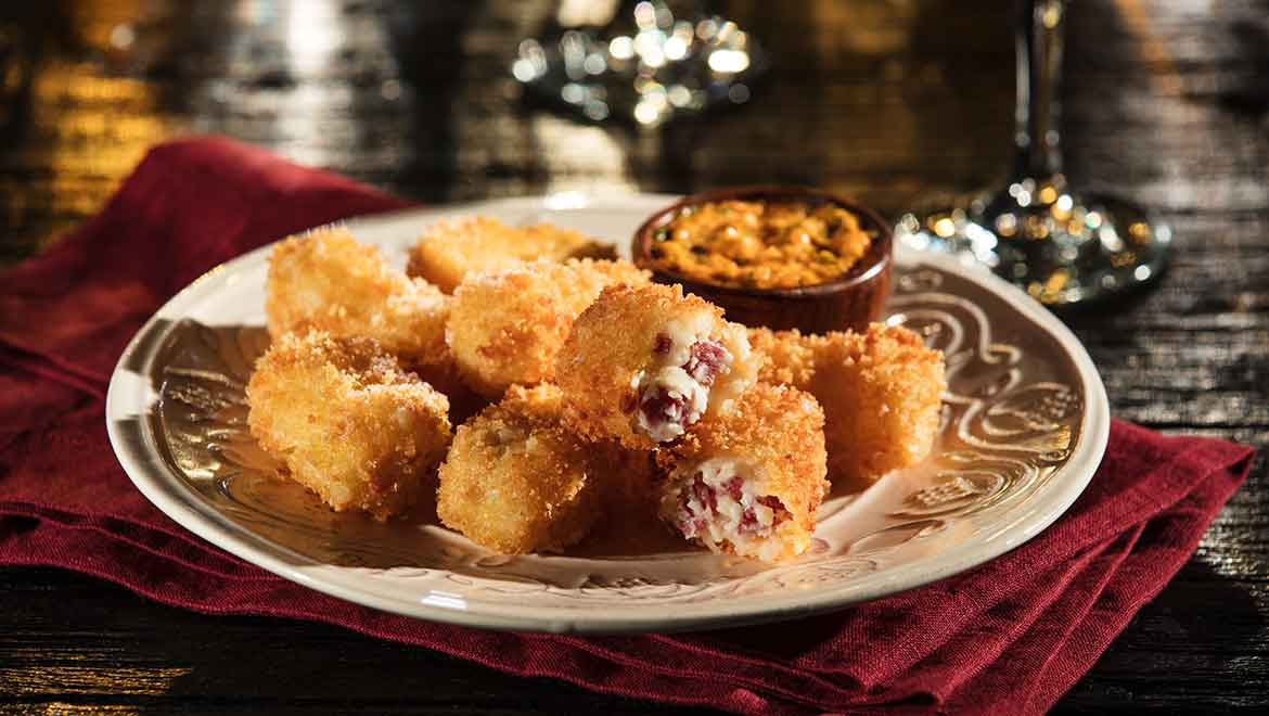 Jamon and Cheese Croquettes