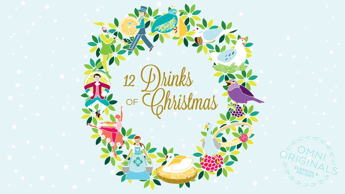 omni originals surprise and delight 12 drinks of christmas - 12 Drinks Of Christmas