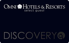 Select Guest black card