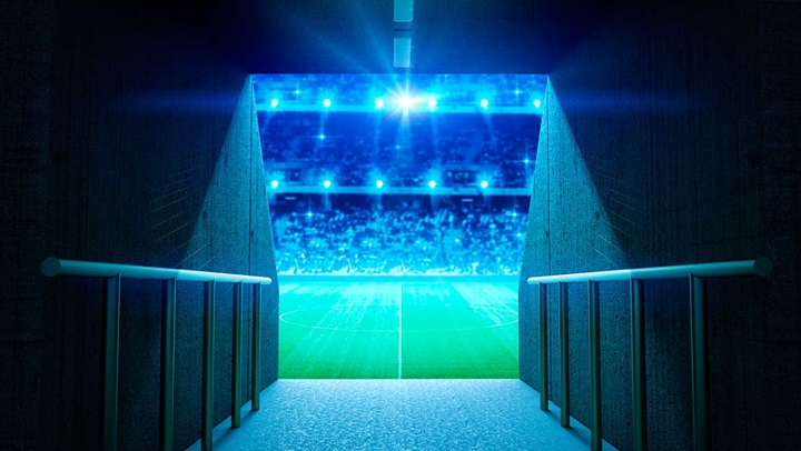 Decorative image - football stadium
