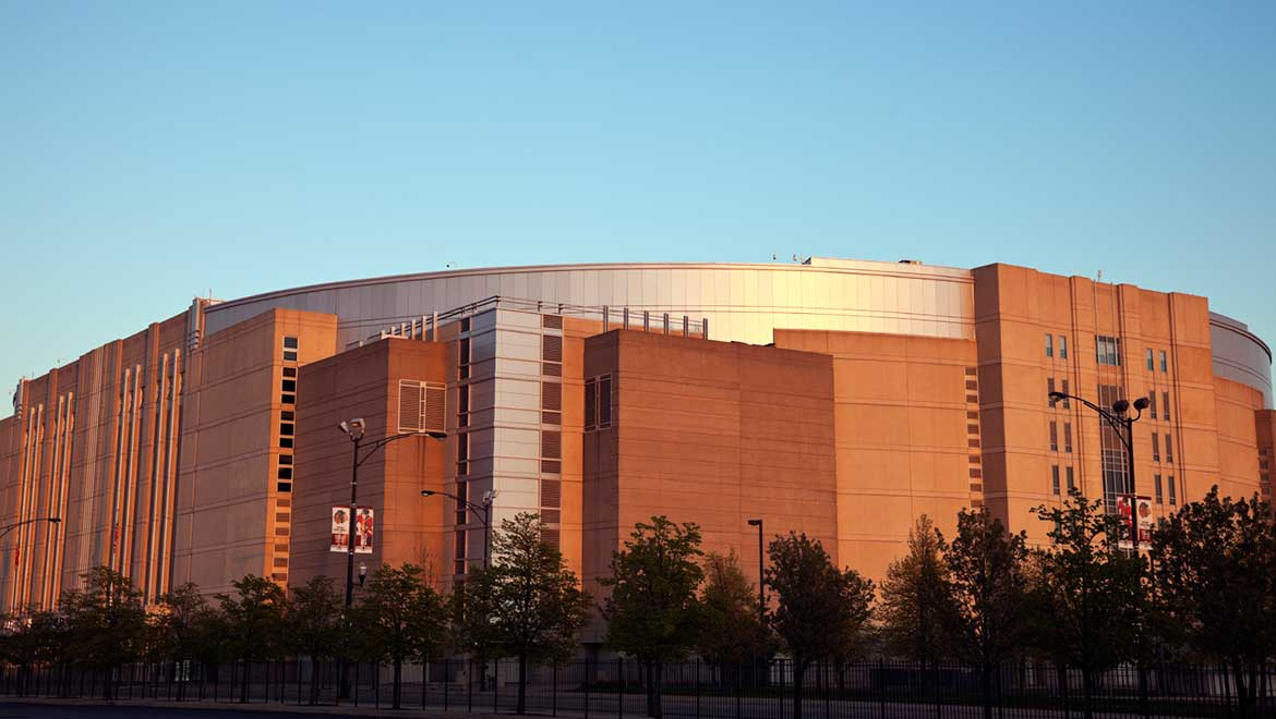 The United Center Serves As Home For Famed Chicago Indoor Sports Teams Blackhawks And Bulls This Venue Contains Most