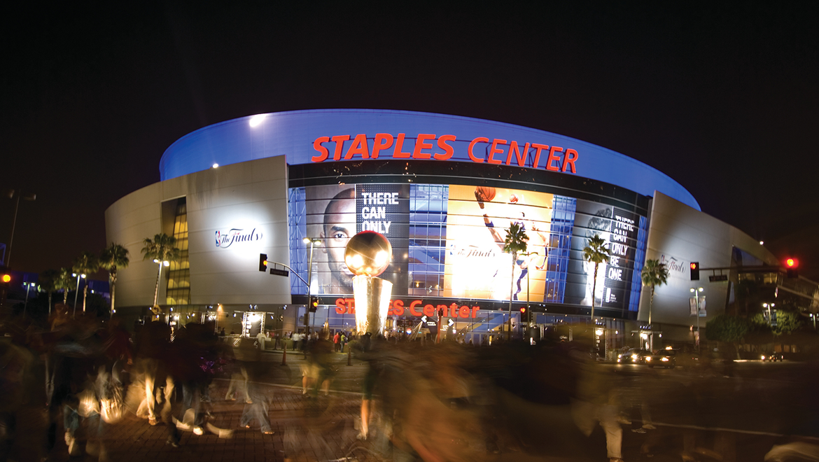 Staples Center Has Distinguished Itself As One Of The Country S Premier Sports And Entertainment Centers Hosting Over 250 Professional Live Music