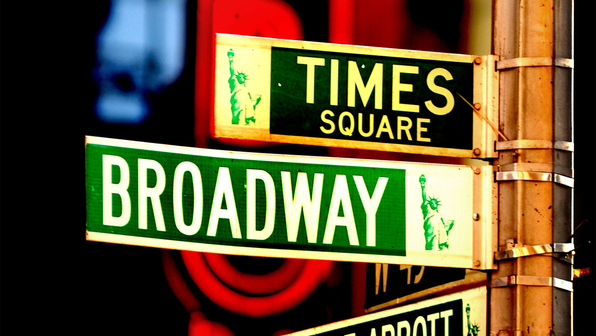 Broadway and Times square