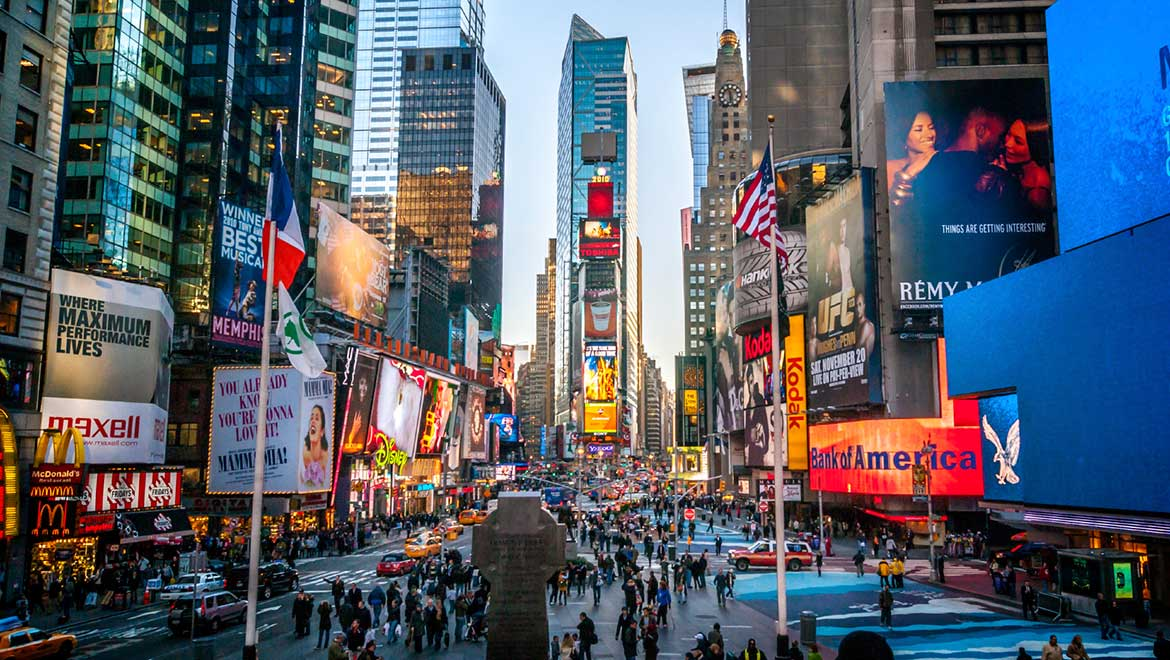 Hotels near times square omni berkshire place for Things to do today in manhattan