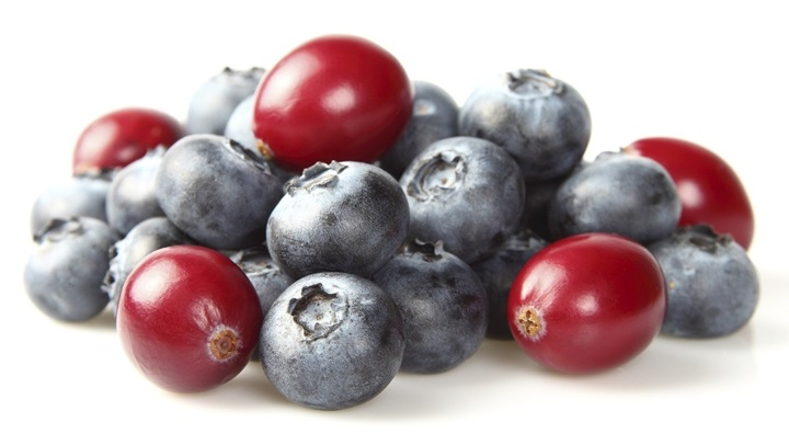 Blueberries & Cranberries