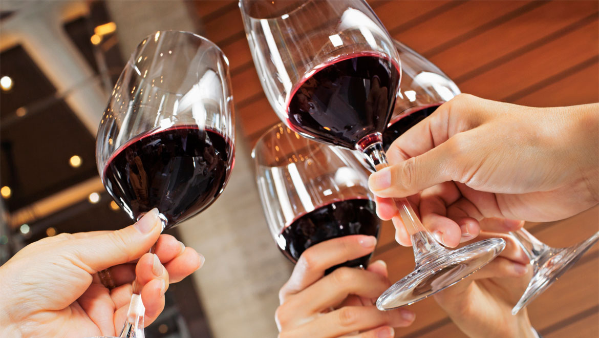 Image result for red wine cheers