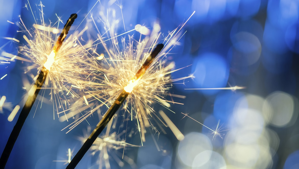 Light up the Night with Sparklers