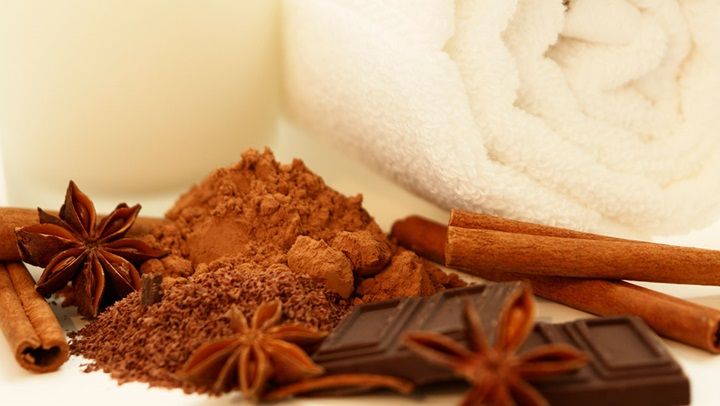 Cocoa cinnamon treatment
