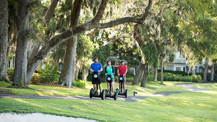 Segway tour at Amelia Island