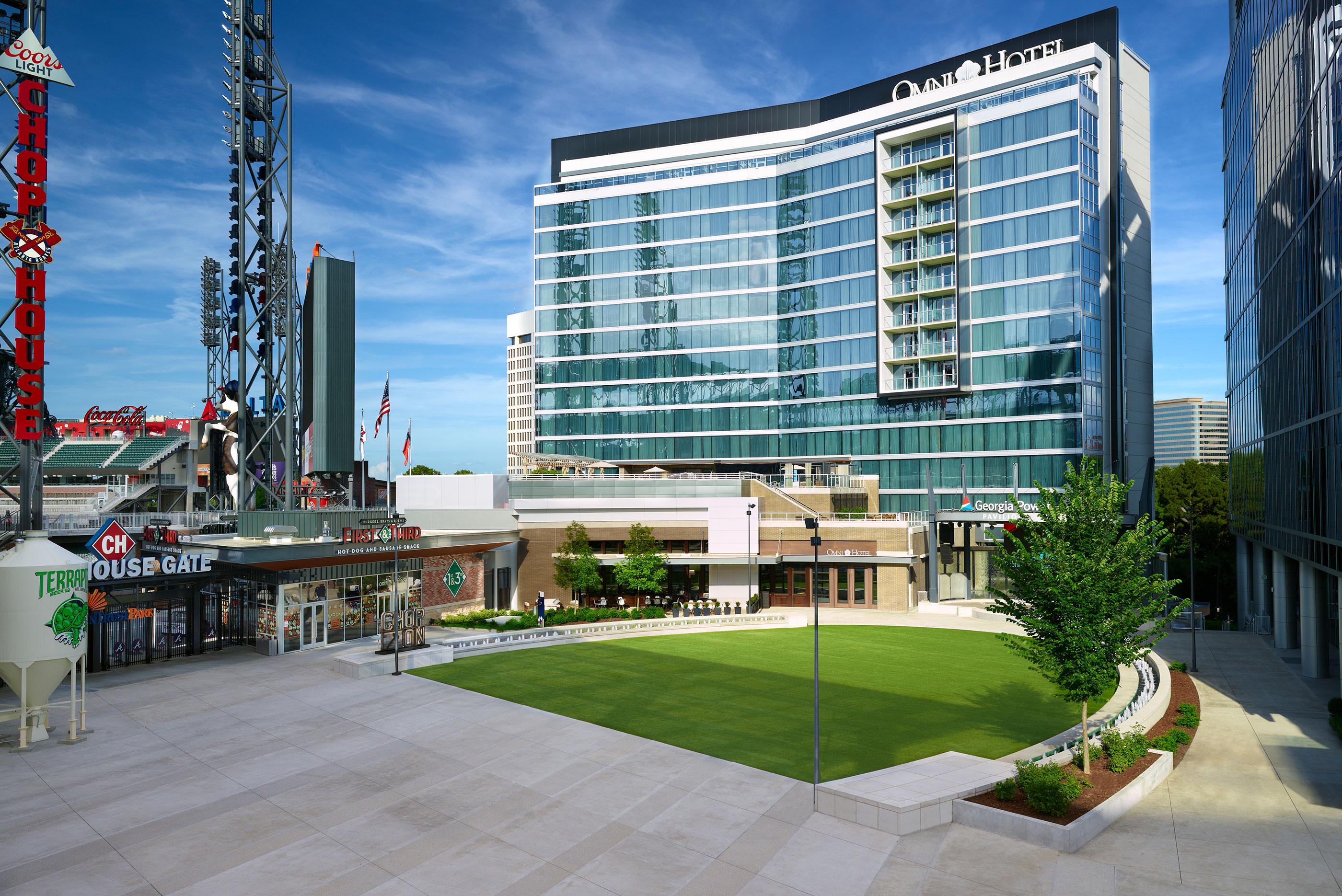 Omni Hotel At The Battery Atlanta Luxury Hotels In Atlanta