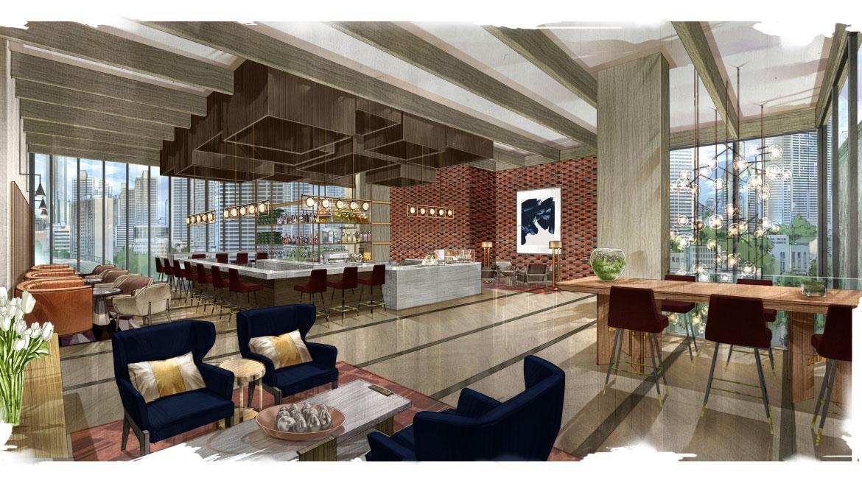 Interior Design Lobby Amazing Janson Goldstein With