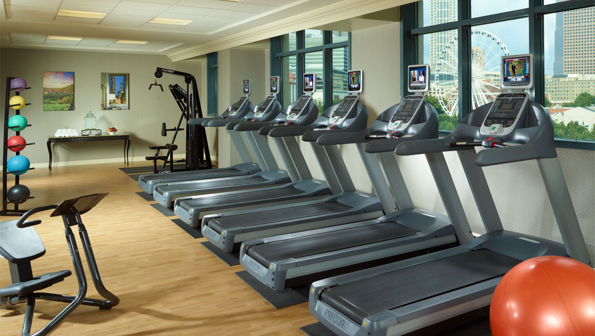 Atlanta fitness omni hotel at cnn center