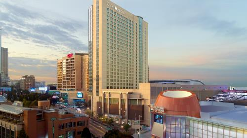 Image result for omni hotel at cnn center