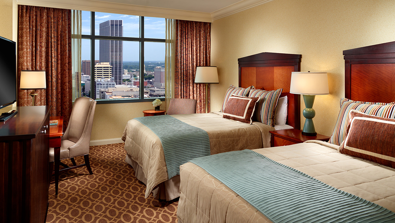 2 Bedroom Hotel Suites Near Atlanta Ga Deluxe Room At Hotel At CNN Tower