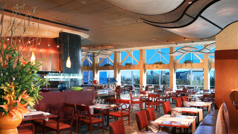 Downtown Atlanta Steakhouse Omni Atlanta Hotel At Cnn Center