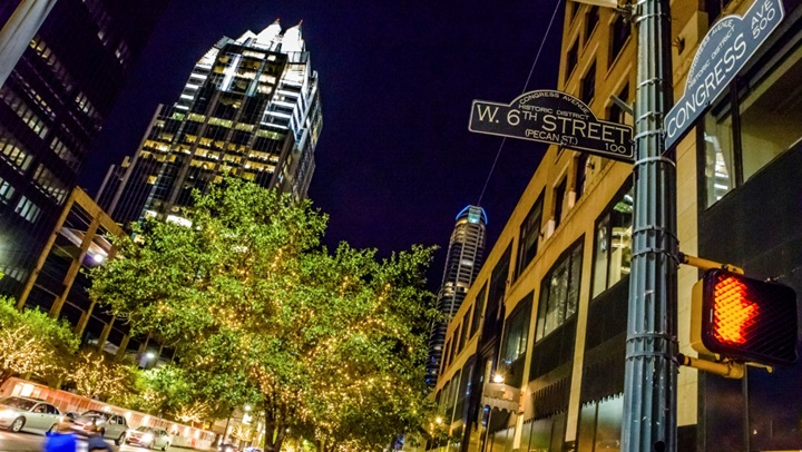 6th Street in Downtown Austin