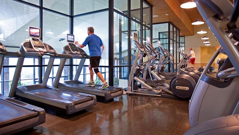 Austin fitness center at omni barton creek resort