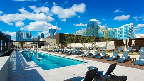 Nashville Rooftop Pool