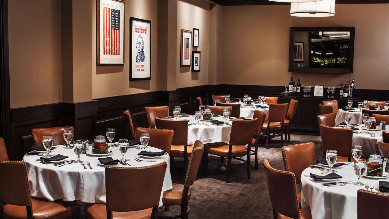Private Dining At Bobs Steak Chop House Omni Nashville
