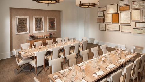 Kitchen Notes Private Dining Room