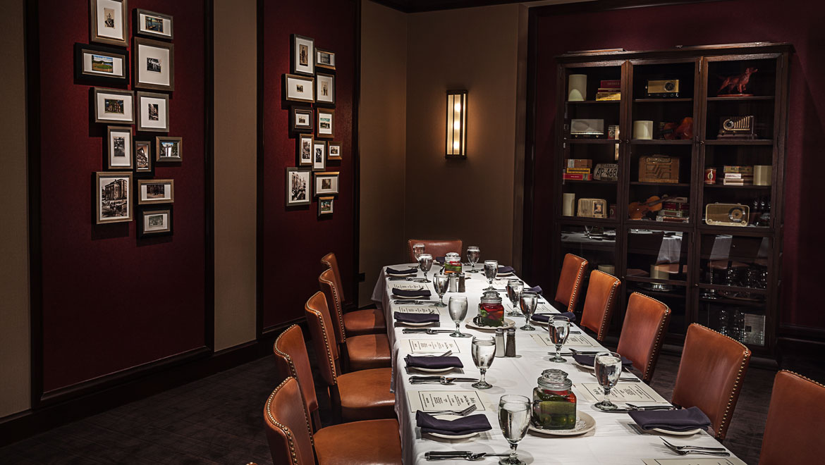 Private dining at bobs steak chop house omni nashville for Best private dining rooms cape town