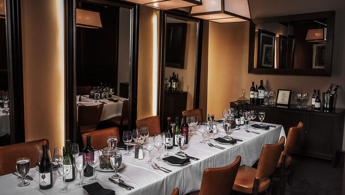 Bob S Steak Chop House Private Dining Room