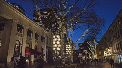 Faneuil Hall Marketplace Holiday Shopping Package