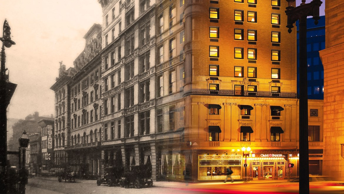 Omni Parker House Past Present