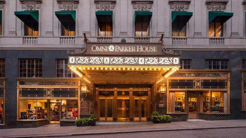 Luxury Downtown Boston Hotels | Omni Parker House