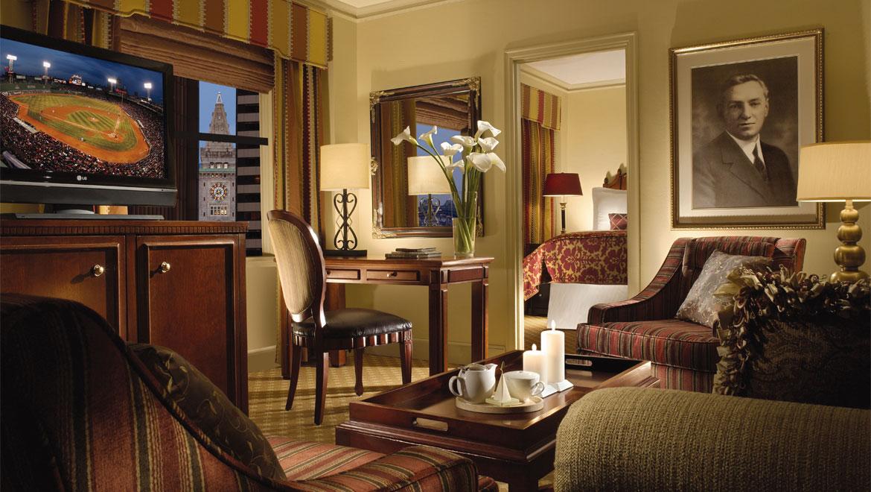 Omni Parker House Boston Room