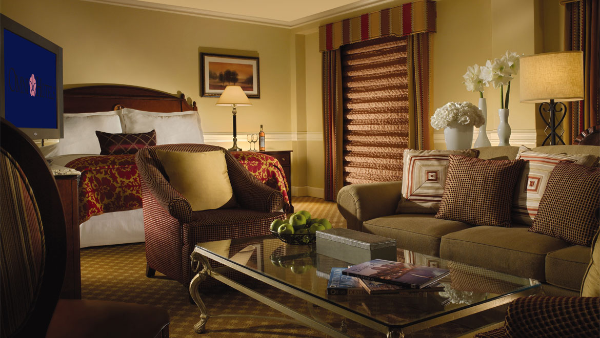 luxury boston guest rooms suites - The Living Room Boston