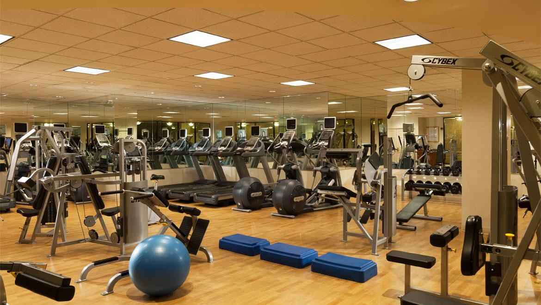 Boston fitness omni parker house