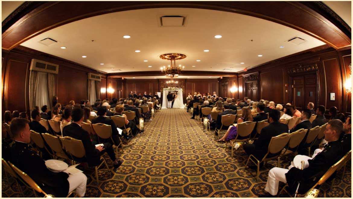 Ceremony at Omni Parker House