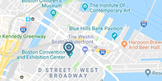 Map location of Omni Boston Hotel at the Seaport