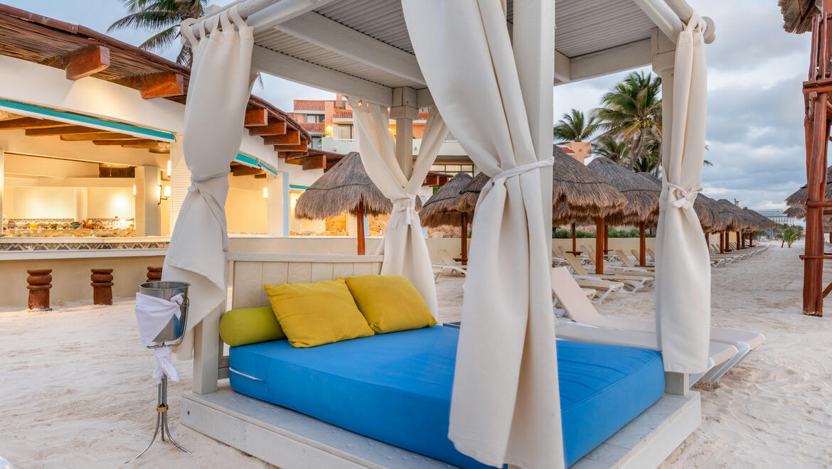 Cancun Beach Cabana