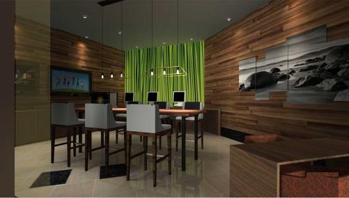 Business Center rendering
