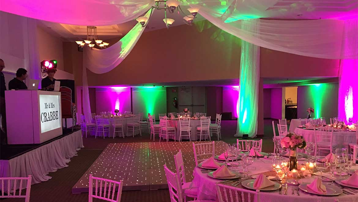 Chichen Itza Ballroom wedding reception