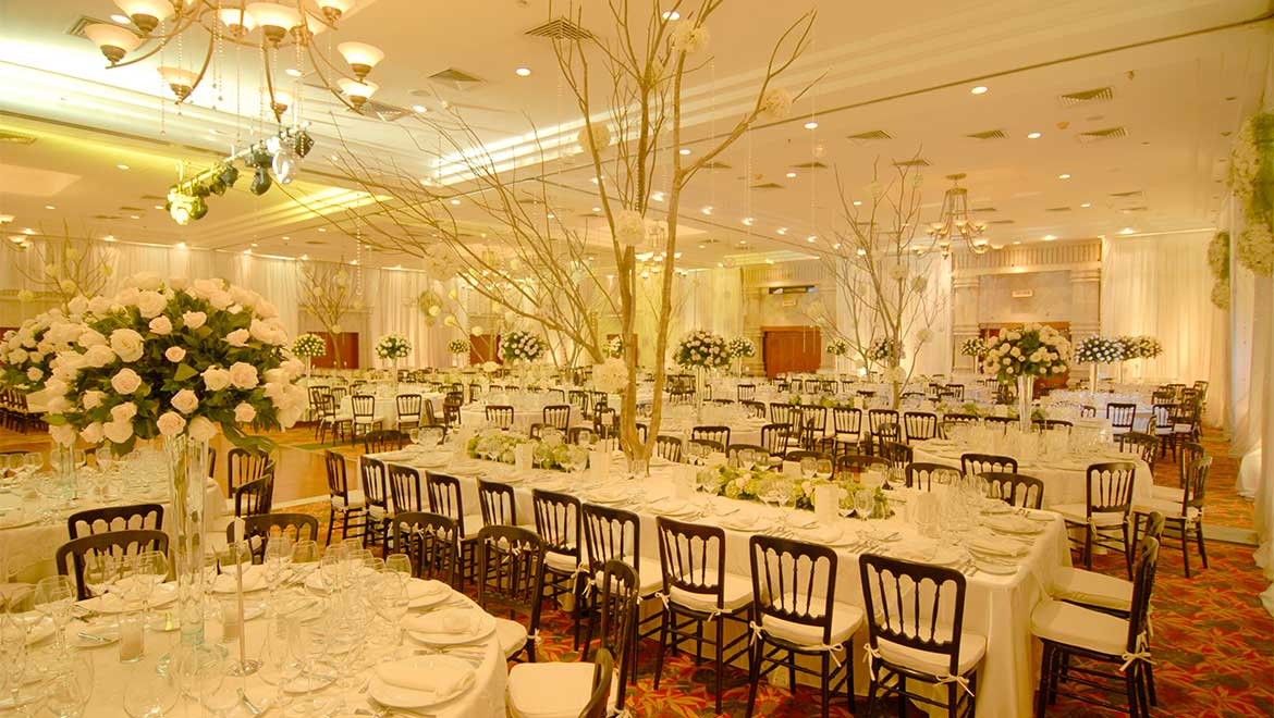 Grand Salon Maya Ballroom reception