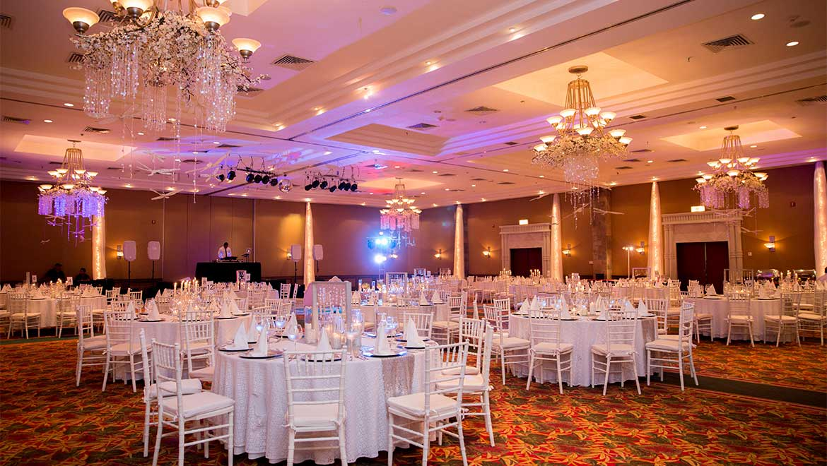 Grand Salon Maya Ballroom wedding reception