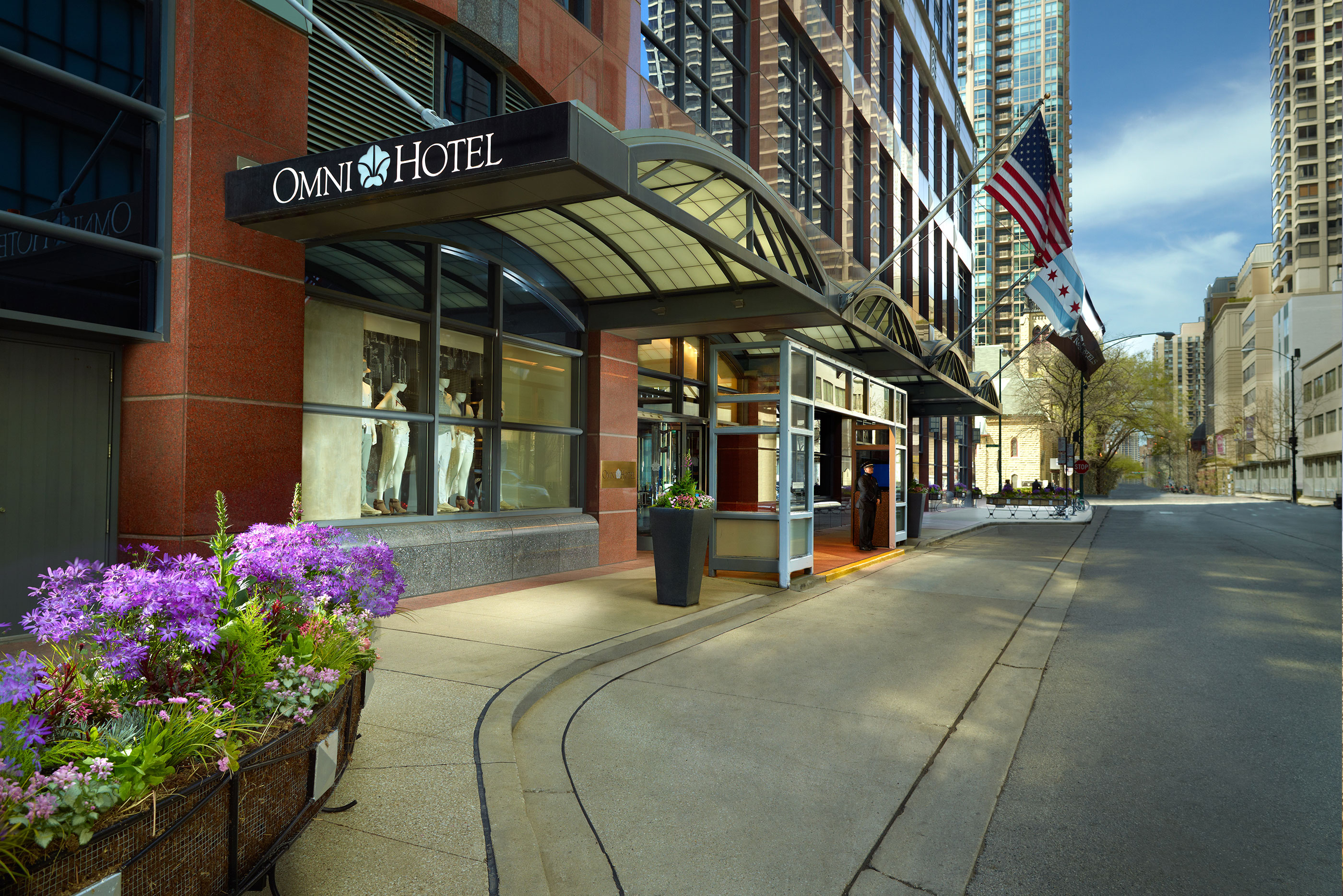Hotels In Chicago >> Hotels In Chicago Omni Chicago Hotel