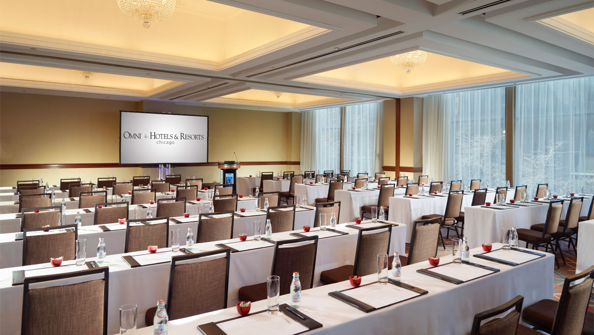 Chicago Hotels With Meeting Space