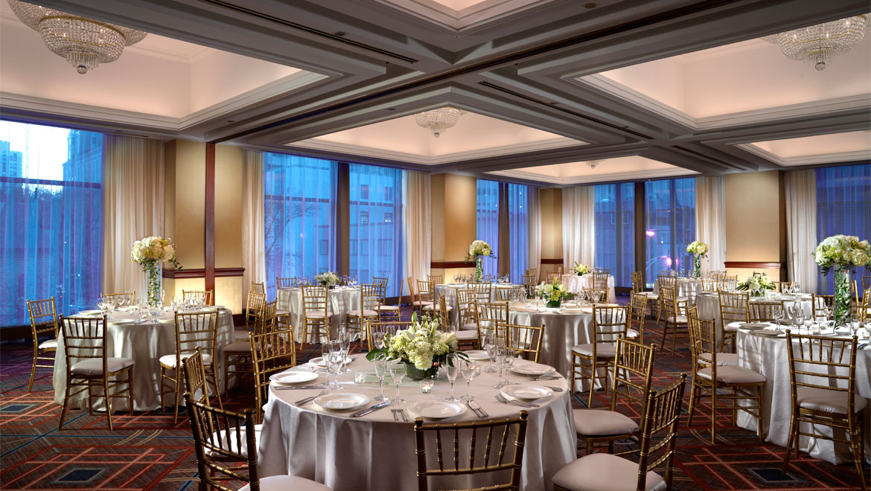 Chicago Wedding Venues Omni Chicago Hotel