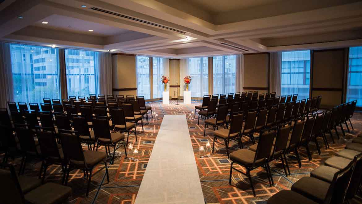 Picasso Ballroom Wedding Ceremony