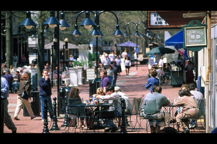 Downtown Mall - Charlottesville