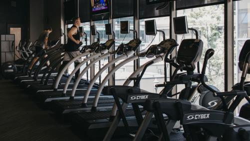 Charlotte Athletic Club Treadmills
