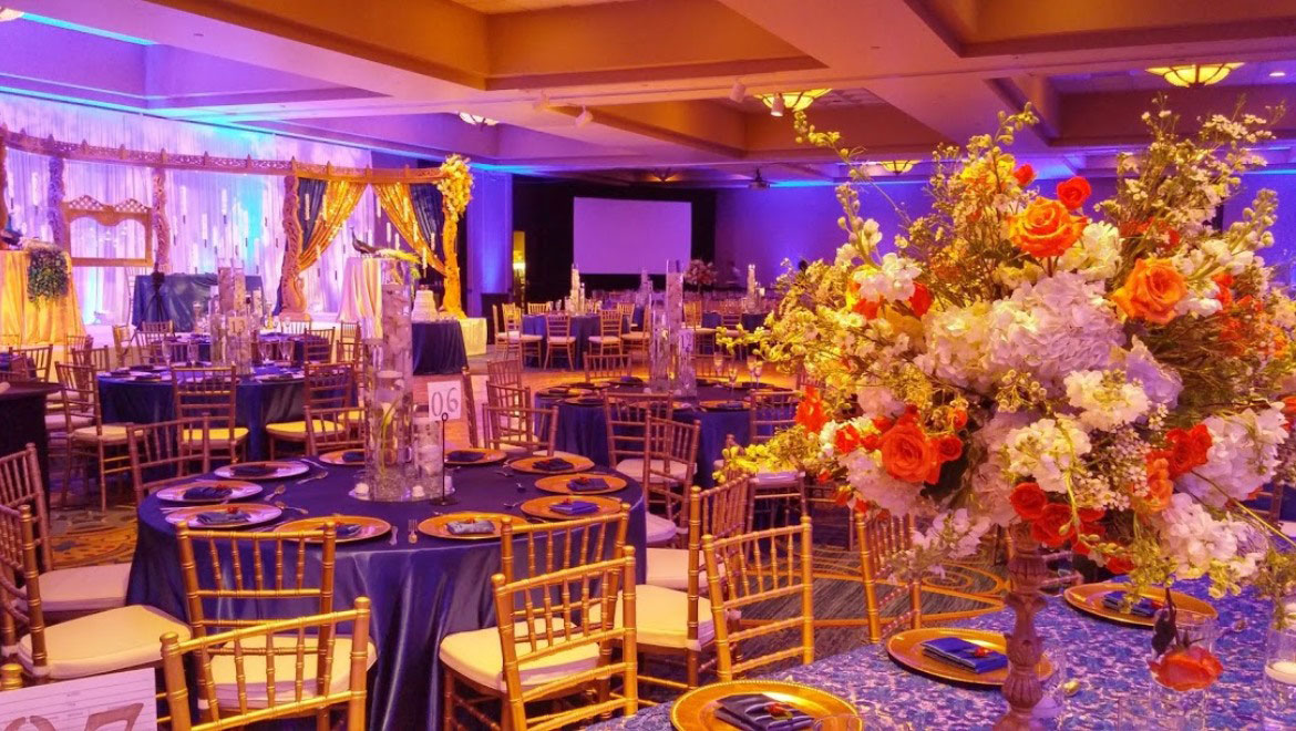 Wedding venues in charlotte nc omni charlotte hotel wedding reception in the grand ballroom junglespirit Images