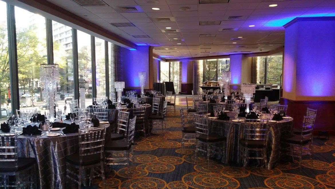Wedding venues in charlotte nc omni charlotte hotel for a more intimate affair consider our pomodoro room with dramatic floorto ceiling windows and a panoramic view of the city center junglespirit Images